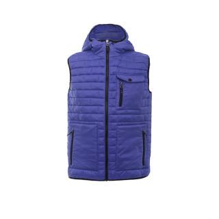 Купить оптом жилетка мужская стеганную утепленная синего цвета 93347S в интернет магазине MTFORCE.RU