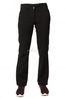 Купить оптом брюки виндстопер женские черного цвета 9355Ch в интернет магазине MTFORCE.RU