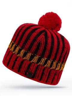 Купить оптом шапку бордового цвета в интернет магазине MTFORCE 6027Bo