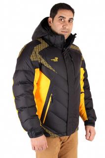 Купить оптом куртка зимняя мужская черного цвета 9421Ch в интернет магазине MTFORCE.RU