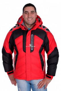 Купить оптом куртка зимняя мужская красного цвета 9439Kr в интернет магазине MTFORCE.RU