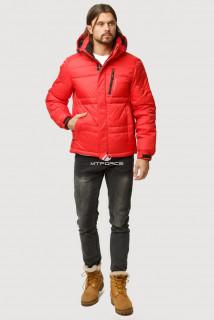 Купить оптом куртка зимняя мужская красного цвета 9521Kr  в интернет магазине MTFORCE.RU