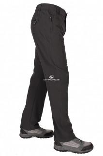 Купить оптом брюки стильные мягкие спортивные темно-серого цвета 9605TС в интернет магазине MTFORCE.RU
