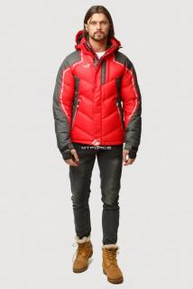 Купить оптом куртка зимняя мужская красного цвета 9648Kr  в интернет магазине MTFORCE.RU
