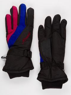 Горнолыжные перчатки мужские зимние синего цвета купить оптом в интернет магазине MTFORCE 970S