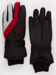 Горнолыжные перчатки мужские зимние серого цвета купить оптом в интернет магазине MTFORCE 970Sr