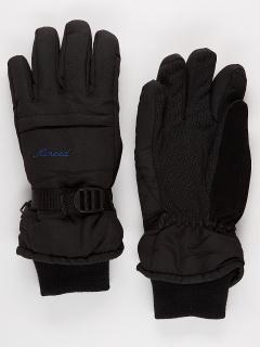 Горнолыжные перчатки женские зимние черного цвета купить оптом в интернет магазине MTFORCE 971Ch