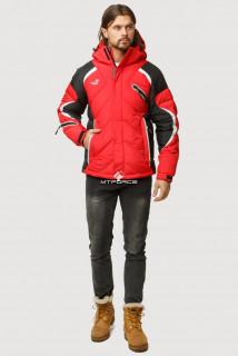Купить оптом куртка зимняя мужская красного цвета 9723Kr  в интернет магазине MTFORCE.RU