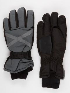Горнолыжные перчатки мужские зимние серого цвета купить оптом в интернет магазине MTFORCE 973Sr