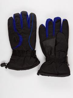 Горнолыжные перчатки мужские зимние синего цвета купить оптом в интернет магазине MTFORCE 975S