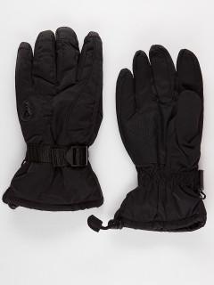 Горнолыжные перчатки мужские зимние черного цвета купить оптом в интернет магазине MTFORCE 975Ch