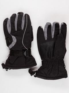 Горнолыжные перчатки мужские зимние серого цвета купить оптом в интернет магазине MTFORCE 975Sr
