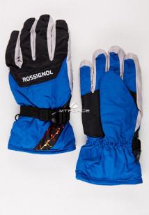 Купить оптом перчатки горнолыжные синего цвета 979S в интернет магазине MTFORCE.RU