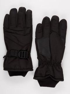 Спортивные перчатки мужские зимние черного цвета купить оптом в интернет магазине MTFORCE 981Ch
