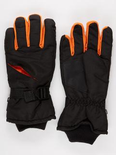 Спортивные перчатки мужские зимние оранжевого цвета купить оптом в интернет магазине MTFORCE 981O