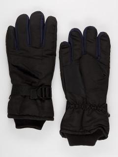 Спортивные перчатки мужские зимние темно-синего цвета купить оптом в интернет магазине MTFORCE 981TS