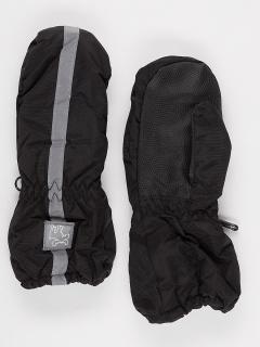 Рукавицы детские зимние черного цвета купить оптом в интернет магазине MTFORCE 987Ch