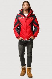 Купить оптом куртка зимняя мужская красного цвета 9899Kr  в интернет магазине MTFORCE.RU