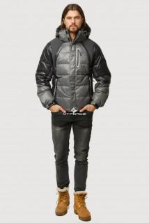 Купить оптом куртка зимняя мужская темно-серого цвета 9952TC  в интернет магазине MTFORCE.RU