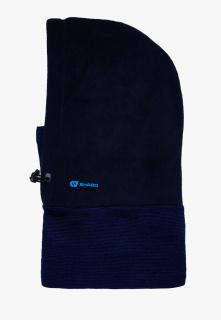Купить оптом балаклавы зимние оптом темно-синего цвета 9991TS в интернет магазине MTFORCE.RU