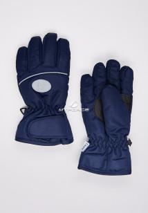 Купить оптом перчатки подростковые горнолыжные темно-синего цвета CV-193TS в интернет магазине MTFORCE.RU