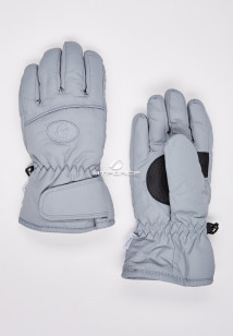 Купить оптом перчатки подростковые горнолыжные светло-серого цвета CV-193SS в интернет магазине MTFORCE.RU