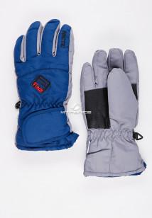 Купить оптом перчатки подростковые горнолыжные темно-синего цвета CV-94TS  в интернет магазине MTFORCE.RU