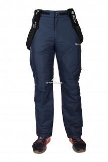 Купить оптом брюки горнолыжные мужские темно-синего цвета 131313TS в интернет магазине MTFORCE.RU