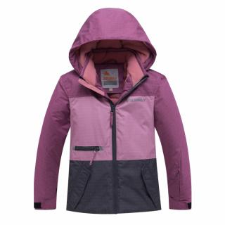 Горнолыжный костюм подростковый для девочки зимний фиолетового цвета купить оптом в интернет магазине MTFORCE 8932F