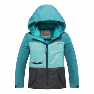 Горнолыжный костюм подростковый для девочки зимний бирюзового цвета купить оптом в интернет магазине MTFORCE 8932Br