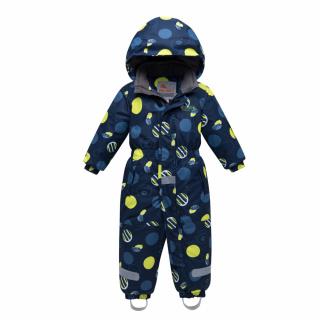 Комбинезон подростковый для мальчика зимний желтого цвета купить оптом в интернет магазине MTFORCE 8905J