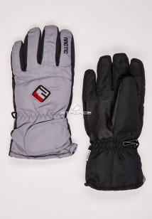 Купить оптом перчатки подростковые горнолыжные серого цвета CV-94Sr в интернет магазине MTFORCE.RU