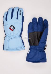 Купить оптом перчатки подростковые горнолыжные голубого цвета CV-94Gl в интернет магазине MTFORCE.RU