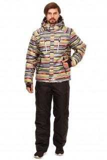 Купить оптом костюм горнолыжный мужской серого цвета 01749Sr в интернет магазине MTFORCE.RU