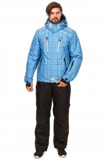 Купить оптом костюм горнолыжный мужской голубого цвета 01749Gl в интернет магазине MTFORCE.RU