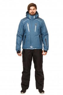 Купить оптом костюм горнолыжный мужской голубого цвета 01748Gl в интернет магазине MTFORCE.RU