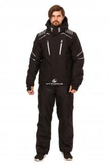 Купить оптом костюм горнолыжный мужской черного цвета 01748Ch в интернет магазине MTFORCE.RU