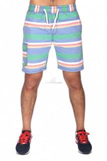 Купить оптом спортивные шорты зеленого цвета S11Z в интернет магазине MTFORCE.RU