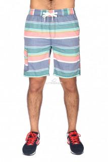 Купить оптом спортивные шорты синего цвета S11S в интернет магазине MTFORCE.RU
