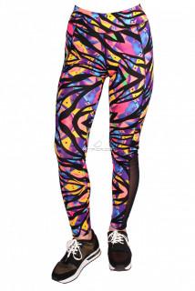 Купить оптом брюки легинсы женские желтого цвета M-28J в интернет магазине MTFORCE.RU