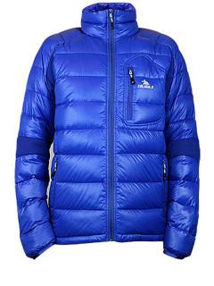 Купить оптом мужскую зимний пуховик еврозима синего цвета в интернет магазине MTFORCE 92102S