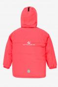 Оптом Куртка демисезонная подростковая для девочки розового цвета 016-2R, фото 2