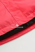 Оптом Куртка демисезонная подростковая для девочки розового цвета 016-2R, фото 5