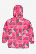 Оптом Куртка демисезонная подростковая для девочки розового цвета 016-1R в Екатеринбурге, фото 2