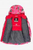 Оптом Куртка демисезонная подростковая для девочки розового цвета 016-1R в Екатеринбурге, фото 3