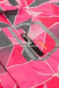 Оптом Куртка демисезонная подростковая для девочки розового цвета 016-1R в Екатеринбурге, фото 4