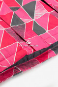 Оптом Куртка демисезонная подростковая для девочки розового цвета 016-1R в Екатеринбурге, фото 5