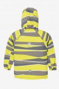 Оптом Куртка демисезонная подростковая для мальчика желтого цвета 017J, фото 2
