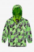 Оптом Куртка демисезонная подростковая для мальчика салатового цвета 017Sl в Екатеринбурге