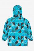 Оптом Куртка демисезонная подростковая для мальчика голубого цвета 017Gl в Екатеринбурге, фото 2